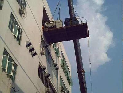 大型设备平台吊装